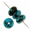 Turquoise Stablized Magnesite 5X10mm 8In Strand